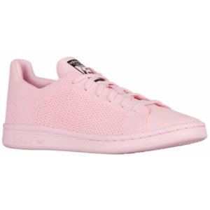 adidas Originals Stan Smith Primeknit - Girls' Grade School - Casual - Shoes - Semi Pink Glow/Semi Pink Glow/Black