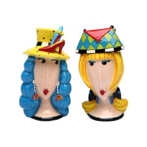 Sugar High Social Lets Go Shopping Salt & Pepper Shakers | zulily