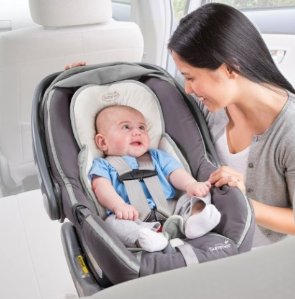 Summer Infant Snuzzler Infant Support for Car Seats and Strollers, Ivory