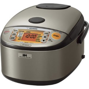 Zojirushi Stainless Induction Heating System Rice Cooker and Warmer & Reviews | Wayfair