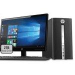 HP Pavilion Desktop Bundle with 24
