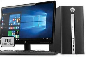 Start! $499.99 HP Pavilion Desktop Bundle with 24