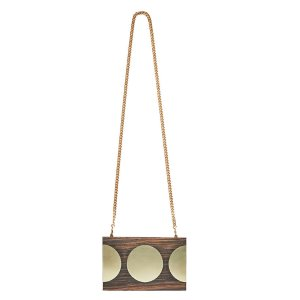 Stella McCartney Wood Clutch Bag | LN-CC