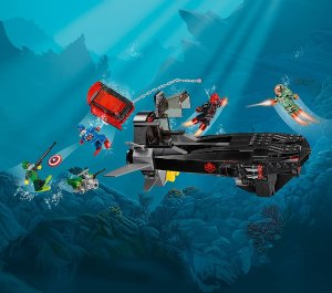 $20.39 LEGO Super Heroes Iron Skull Sub Attack 76048