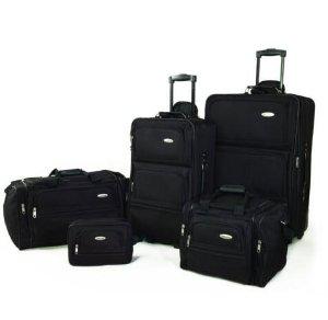 $79.99 Samsonite 5 Piece Nested Luggage Suitcase Set 25