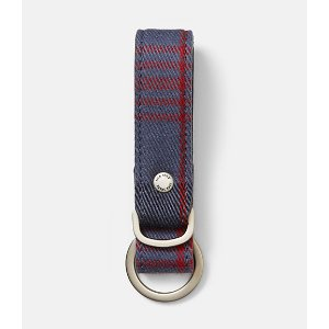 Cocharron Plaid Key Fob - JackSpade