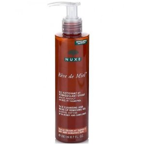 Nuxe Rêve de Miel Face Cleansing and Make-Up Removal Gel 200ml - Skincare | Unineed | Premium Beauty
