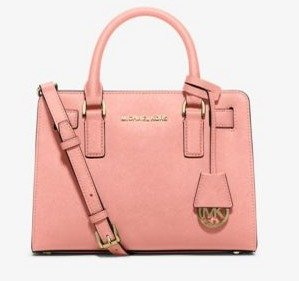 MICHAEL Michael Kors Dillon Small Saffiano Leather Satchel