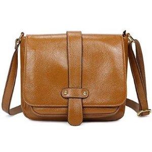 $55.99 Kattee Retro Women's Leather Small Crossbody Bag