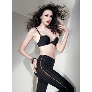 Wired 3/4 Cup Push-up Molded Bra