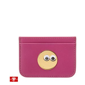 Rue La La — Sophie Hulme Googly Eye Rosebery Leather Card Holder
