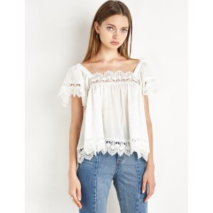 Crochet Cotton Trapeze Top