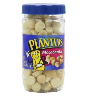 $5.44(reg. $7.25 ) Planters Macadamia Nuts.6.25oz