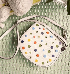 $159.25(Org.$325) Tory Burch Confetti Mini Saddlebag
