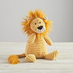 Jellycat Corduroy Lion by The Land of Nod | Spring - Free Shipping. On Everything