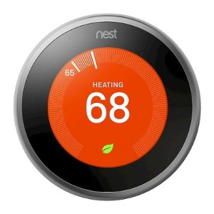 2016 CyberWeek! $169Nest - 3rd Generation Learning Thermostat - Stainless Steel