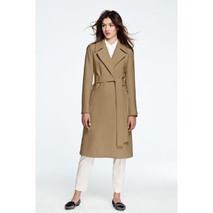 Women's Wrap Trench Coat from Lands' End