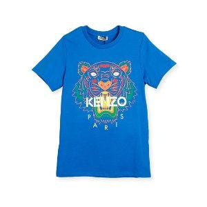 Kenzo 虎头TEE, Size 8-12