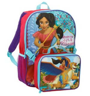 $9.95GDC Disney Princess Elena of Avalor 16 in Backpack with Lunchbox