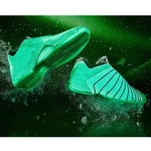 ADIDAS T-MAC 3 Men's White/Green Glow
