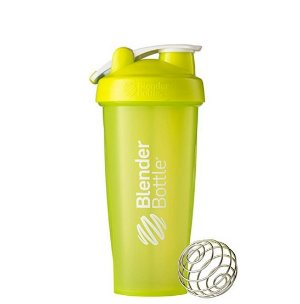 $3.74 BlenderBottle Classic Loop Top Shaker Bottle, Green/Green, 28-Ounce Loop Top