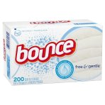 2 Pack for $11 + $5GC Bounce Free & Gentle Fabric Softener Sheets 200 ct