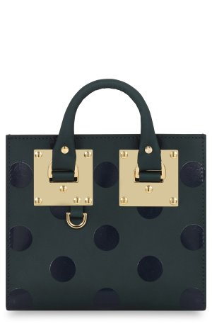 Sophie Hulme 'Albion' Polka Dot Leather Crossbody Bag