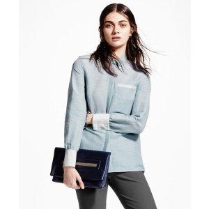 Linen Button-Down Shirt - Brooks Brothers