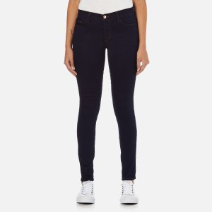 J Brand Women's Mid Rise 811 Skinny Jeans - Ink - Free UK Delivery over £50