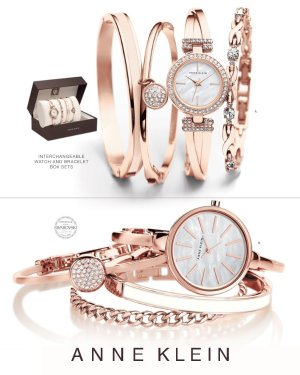 Up to 40% off+Extra 20% off Anne Klein Women's Watch and Bracelet Set