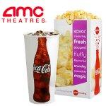 AMC Popcorn & Soda Combo