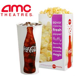 $5 for StudentsAMC Popcorn & Soda Combo