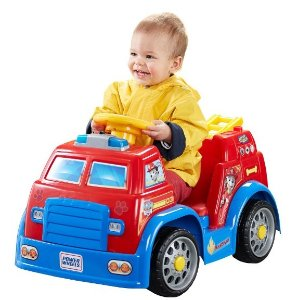 Fisher-Price Power Wheels Nickelodeon PAW Patrol Fire Truck
