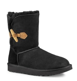 UGG Keely Sheepskin Toggle Boots @ Lord & Taylor