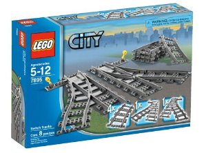 $11.95 LEGO City Switch Tracks