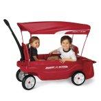 销量领先!$129(原价$169.99) 溜娃好装备~Radio Flyer终极舒适型双人儿童拖车