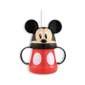 Disney Mickey Mouse Straw Cup - 10 Ounce - Sassy - Babies