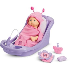 Bitty Baby Bath Time Collection (Includes choice of Bitty Baby doll)