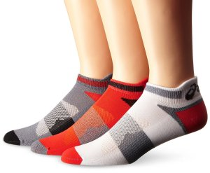 $3 Each ASICS Unisex Quick Lyte Cushion Single Tab Socks (Pack of 3)