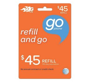 10% offPrepaid Refill Cards: AT&T GoPhone, Sprint,  Verizon and more