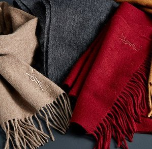 $69.99(Org.$295) with Yves Saint Laurent Wool & Cashmere Scarf Order @ Saks Off 5th