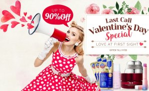 Last Call!Up To 90% OffValentine's Day Special Sale @ Sasa.com
