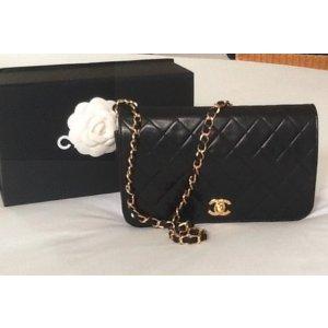 Black Leather Handbag