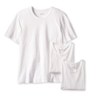 BOSS HUGO BOSS Men's Cotton Crew-Neck T-Shirt (Pack of Three)