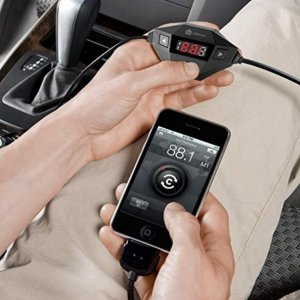 Lightning Deal iClever Wireless FM Transmitter Radio Adapter Car Kit