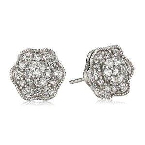 Up to 60% Off Diamond Stud Earrings @ Amazon