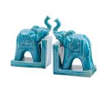 陶瓷大象书立