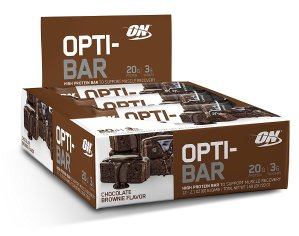 $18.89 Optimum Nutrition Opti-Bar Protein Bar 12 Count Various Flavors