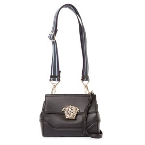 Versace Palazzo Empire Mini Leather Shoulder Bag