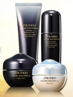 Dealmoon Exclusive!  Free 4pc Future Solution LX Deluxe Gift with purchase of 2 Future Solution LX items @ Shiseido